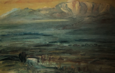 Dawn at Ina Valley 1947
