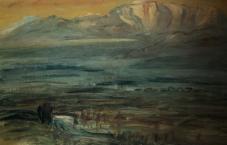 Dawn at Ina Valley 1947
