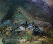 Village at the Mountains 1955