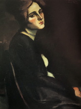 Seated woman 1 1919